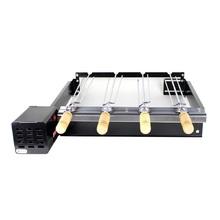 Grill ArtGrill Platinum Baixo com 4 Espetos Bivolt 65x12x22cm Artmill