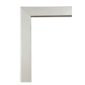 Guarnição Alumínio Natural Acetinado Aluminium Janela  Veneziana Correr 120 x 150 cm Sasazaki