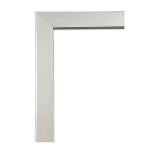 Guarnição Alumínio Natural Acetinado Aluminium Janela Integrada com Veneziana 140 x 120 cm Sasazaki
