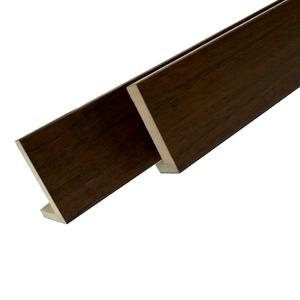 Guarnição Lisa de Madeira 10cm Morgan Woods