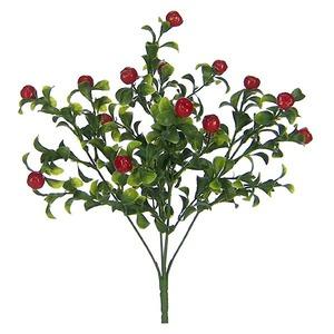 Haste Artificial Frutinhas 31cm Vermelho Flor Arte