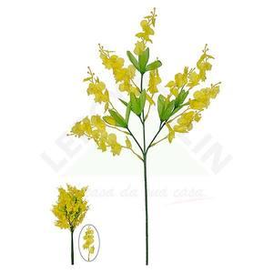Haste Orquídea Dançante X11 Amarela 70cm Florarte