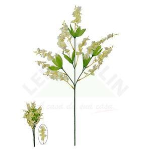 Haste Orquídea Dançante X11 Creme 70cm Florarte