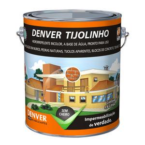 Hidrorrepelente para Fachadas Denver Tijolinho 3,6 Litros Denver Imper