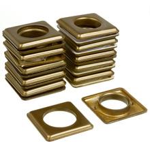 Ilhós Plástico Ouro Velho 19mm 20 peças Couselo