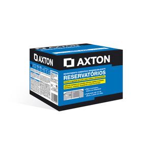 Argamassa Polimérica Impermeabilizante Axton Reservatórios Cinza Caixa com 4Kg