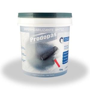 Impermeabilizante para concreto AM712 BR 18kg Prodopas