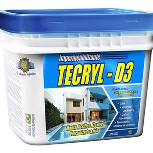 Impermeabilizante Tecryl D3 Cinza 12Kg