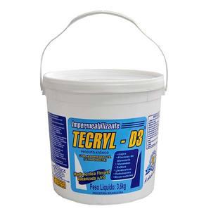 Impermeabilizante Tecryl D3 Telha 3,6kg Tecryl