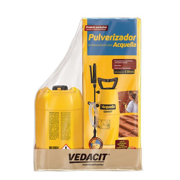 Impermeabilizante telhado acquella pulverizador 5l vedacit for Pulverizador leroy merlin
