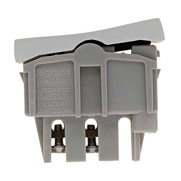 M dulo de interruptor simples pial plus pial legrand - Leroy merlin interruptores ...