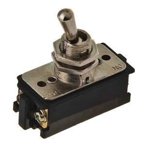 Interruptor Alavanca Metal Preto 120-250V 10-15A Margirius