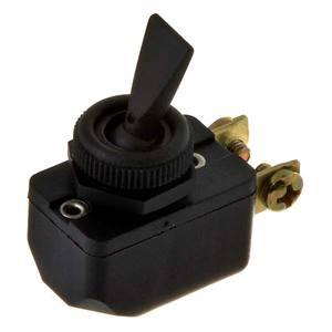 Interruptor Alavanca Nylon Preto 120-250V 3-6A Margirius