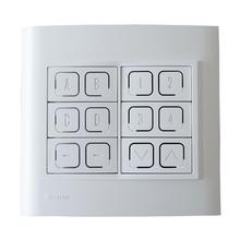 Interruptor Eletrônico Keypad Wireless INT-44-4C14Z MyWay Domótica