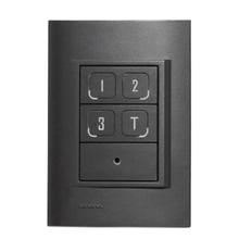Interruptor Inteligente 6 zonas, 4 cenas e sensor IR MyWay Easy Automation