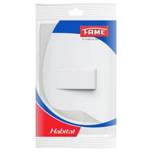 Interruptor Simples 10A 250V Branco Habitat Fame