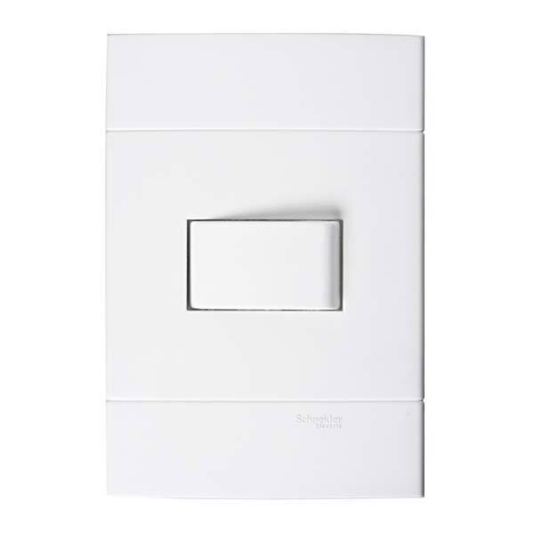 Conjunto de interruptor simples 10a branco prime lunare - Leroy merlin interruptores ...