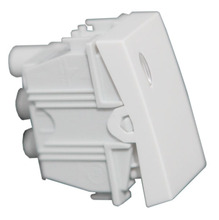 Interruptor simples S/Led Simon 30 Br