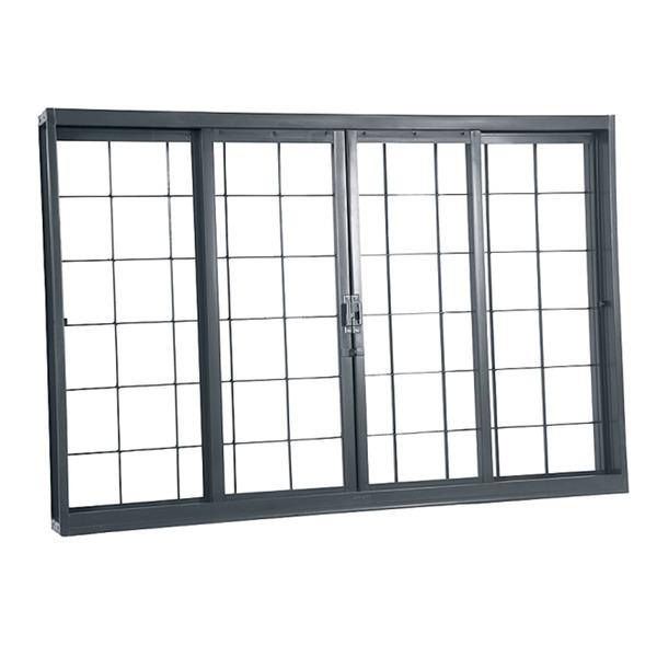 janela de correr lisa de a o 1 20x2 00m gravia leroy merlin. Black Bedroom Furniture Sets. Home Design Ideas