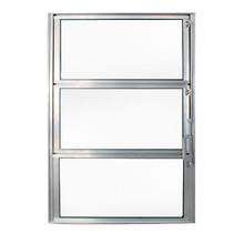 Janela de Abrir Basculante de Alumínio 0,60x0,40m Brilhante Fortline Atlântica