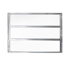 Janela de Abrir Basculante de Alumínio 0,60x0,80m Brilhante Fortline Atlântica