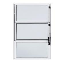 Janela de Abrir Basculante de Alumínio 0,60x0,40m Branco Fortline Atlântica