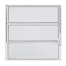Janela de Abrir Basculante de Alumínio 0,60x0,60m Branco Fortline Atlântica