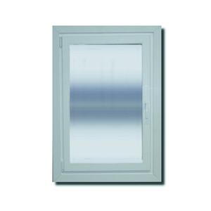 Janela com Proteção Térmica Abre e Tomba Lisa PVC Vidro Duplo 6mm 1,20x0,80m Selbach