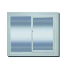 Janela com Proteção Térmica de Correr Lisa PVC Vidro Duplo 6mm 1,00x1,20m Selbach