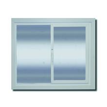 Janela com Proteção Térmica de Correr Lisa PVC Vidro Duplo 6mm 1,00x1,50m Selbach