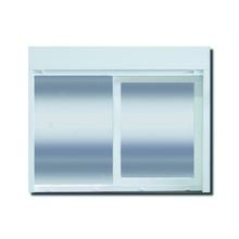 Janela com Proteção Térmica de Correr Persiana Integrada PVC Vidro Duplo 6mm 1,20x1,50m Selbach