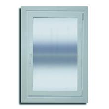 Janela com Proteção Térmica e Acústica Abre e Tomba Lisa PVC Vidro Duplo 6mm 1,20x0,80m Selbach