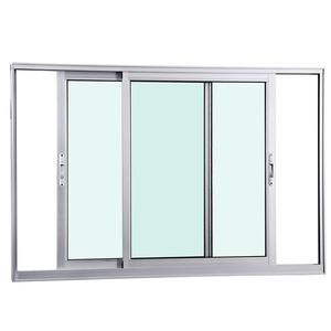 Janela Correr Aluminio Fosco S/Grade C/Vidro Liso 2 Folhas 100,00 X 120,00 X 7,40 Cmeterna Gravia