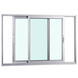 Janela Correr Aluminio Fosco S/Grade C/Vidro Liso 2 Folhas 100,00 X 150,00 X 7,40 Cmeterna Gravia
