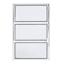 Janela de Abrir Basculante Alumínio 0,60x0,40m 3A Alumínio