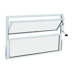 Janela de Abrir Basculante de Alumínio 0,40x0,40m Sasazaki