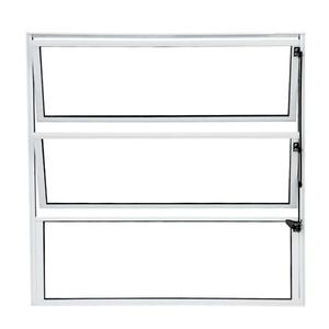 Janela de Abrir Basculante de Alumínio 0,60x0,40m Habitec