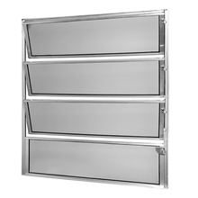 Janela de Abrir Basculante de Alumínio Fortline 0,80x0,60m Atlântica