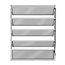 Janela de Abrir Basculante de Alumínio Fortline 1,00x1,00m Atlântica