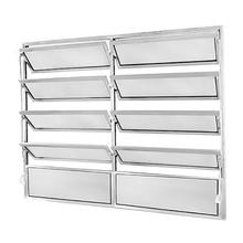 Janela de Abrir Basculante de Alumínio Fortline 1,00x1,20m Atlântica
