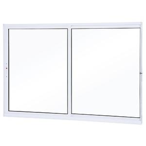 Janela de Correr Alumínio Branco 100 cmx100 cm Lumini Lumini