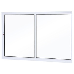 Janela de Correr Alumínio Branco 100 cmx120 cm Lumini Lumini