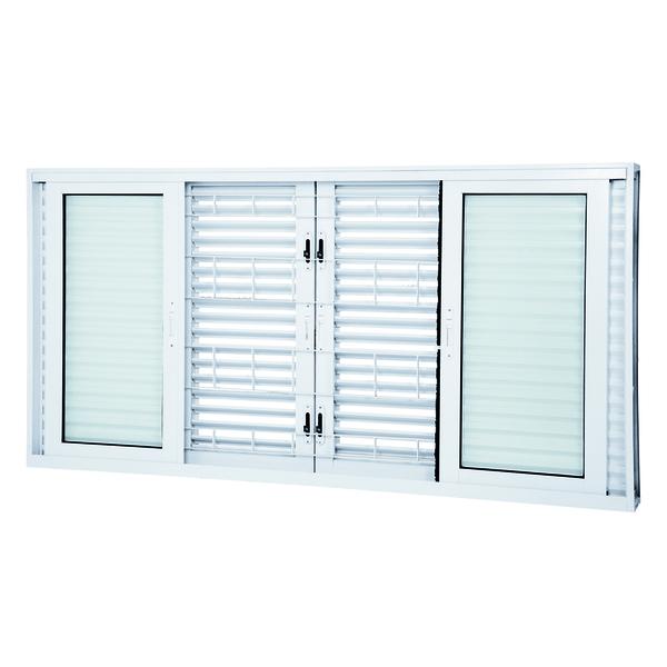 janela de correr veneziana de a o pintado facilit 1 20x2 00m lucasa ullian leroy merlin. Black Bedroom Furniture Sets. Home Design Ideas
