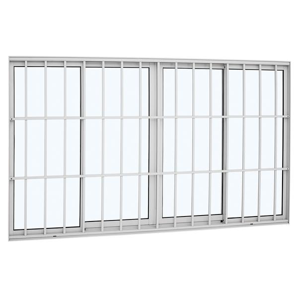 janela de correr lisa de alum nio 1 20x2 00m sasazaki leroy merlin. Black Bedroom Furniture Sets. Home Design Ideas