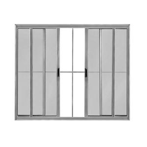 Janela de Correr Lisa de Alumínio Mais 1,00x1,50m Atlântica