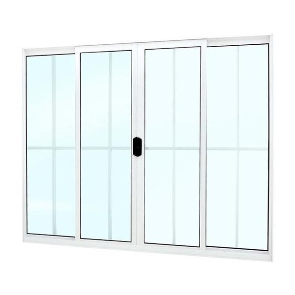 janela de correr de alum nio com grade 1 20x2 00m branco mais atl ntica leroy merlin. Black Bedroom Furniture Sets. Home Design Ideas
