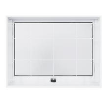 Janela Maxim-Ar Lisa Aço Pintado 0,60x0,80m Ideal CRV