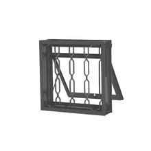 Janela Maxim-Ar Grade Elo de Aço 0,60x0,60m CRV
