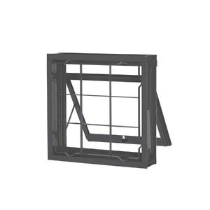 Janela Maxim-Ar Grade Quadrada de Aço 0,50x0,50m CRV