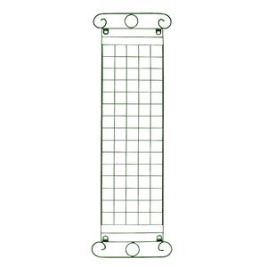 Jardim Vertical Aço Coluna Grega Verde 130x40cm